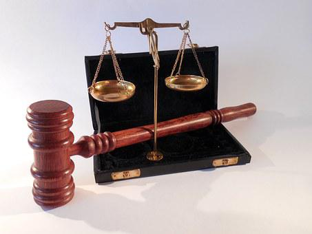 Martelo, Horizontal, Tribunal, Justiça