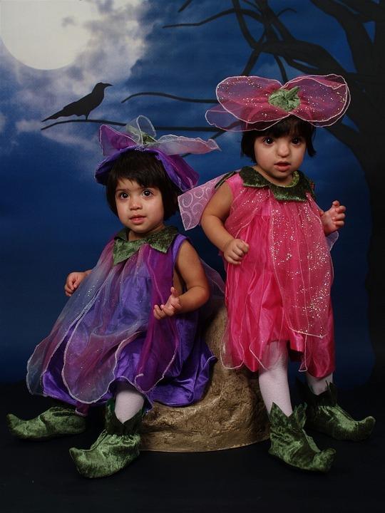 tvillinge kostume