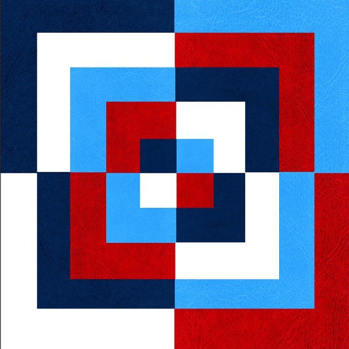 80 Gambar Aliran Abstrak Geometris Kekinian