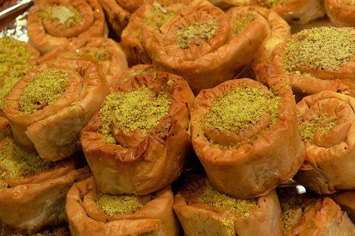 Dulces Árabes, Bazar, Cocina Marroquí