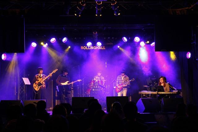 Free Photo Music Stage Joe Cotton Image On Pixabay 805542