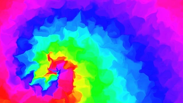 Free illustration: Rainbow, Colourful, Colours, Swirl ...