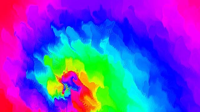 kostenlose illustration regenbogen bunte farben wirbel