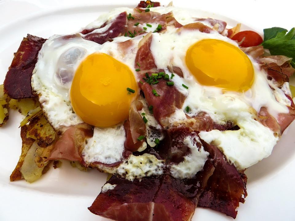 Eier Speck Frühstück Guten Kostenloses Foto Auf Pixabay