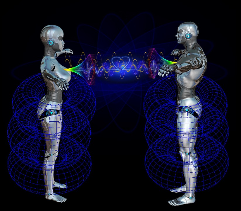 Heart, Energy Field, Energy, Robot, Connection, Laser