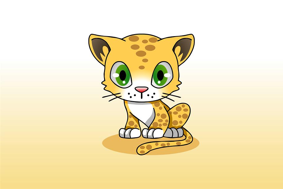 Illustration gratuite des animaux mignon dessin anim - Dessin manga animaux ...