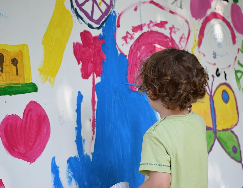 Foto gratis pintura ni o dibujo murales imagen gratis en pixabay 808011 - Mejor pintura plastica ...