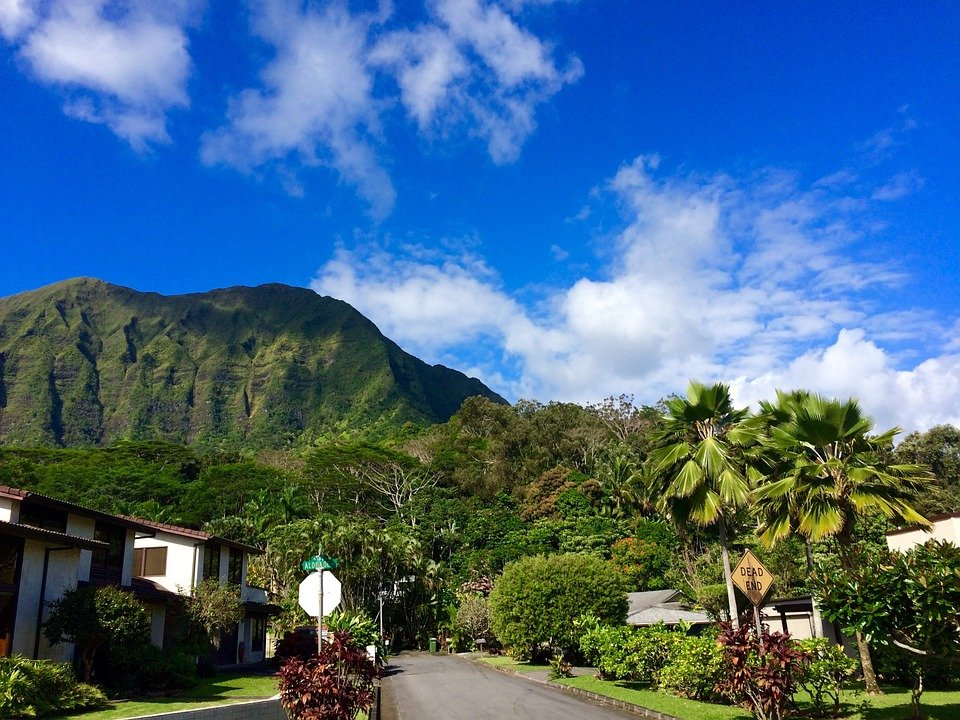 Free Photo Hawaii Oahu Mountain Sky Free Image On