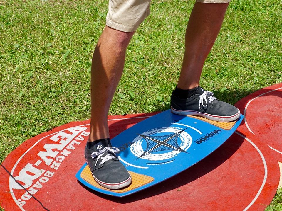 balance board training