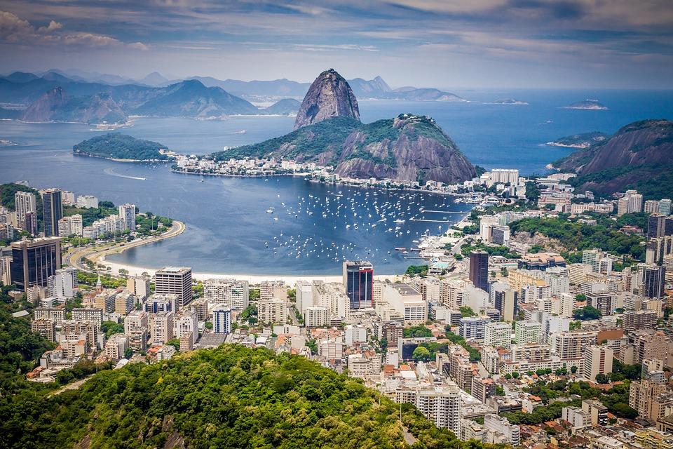 Rio De Janeiro, Brasil, Górskie, Turystyki, Krajobraz