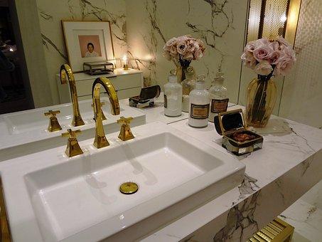 Bathroom, Washbasin, Pia, Bathroom