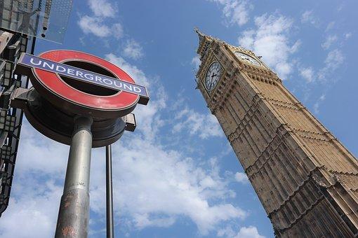 ビッグ ベン, ロンドン, 議会, タワー, クロック, イングランド