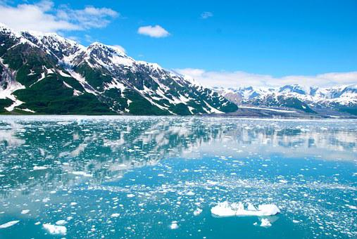 Alaska, Glacier, Ice, Mountains