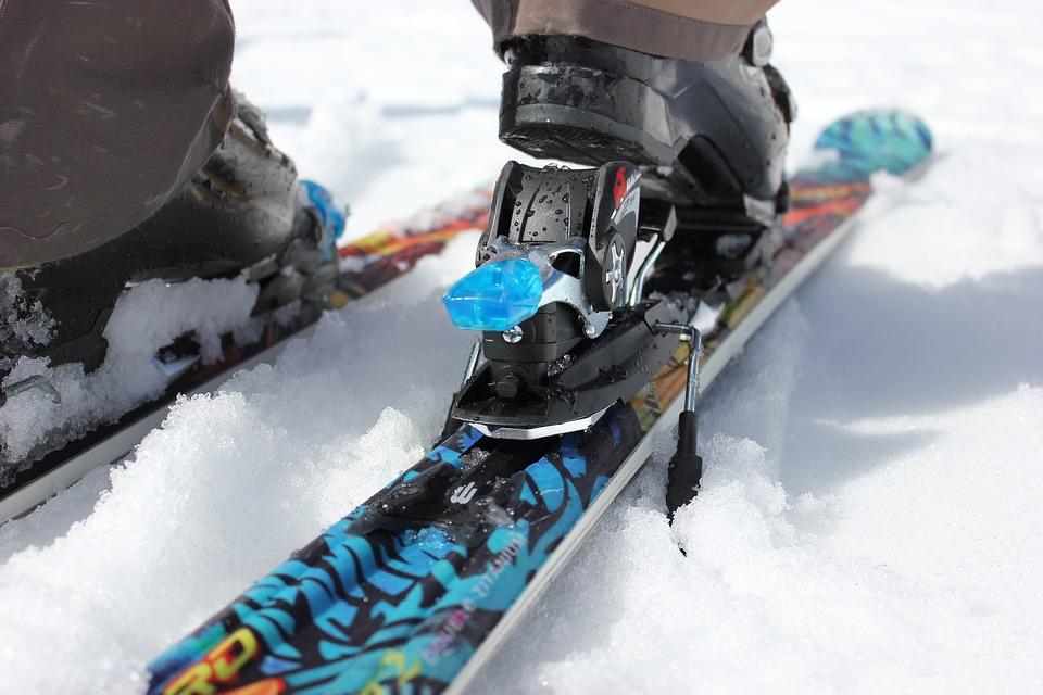 Ski, Begin, Binding, Open