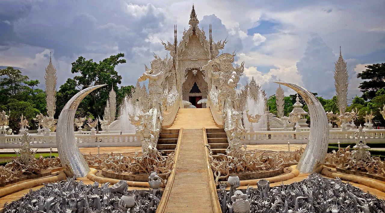Wat Rong Khun Chiang Rai Thailand - Free photo on Pixabay