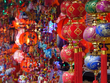 Singapore, China Town, Colorful, Chinese