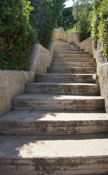 Stairs, Stone, Staircase, Stone Steps