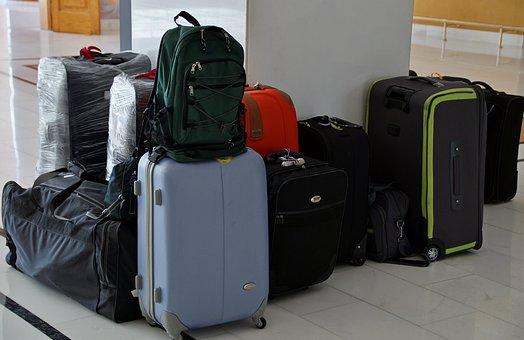 スーツケース, 荷物, 旅行, パック