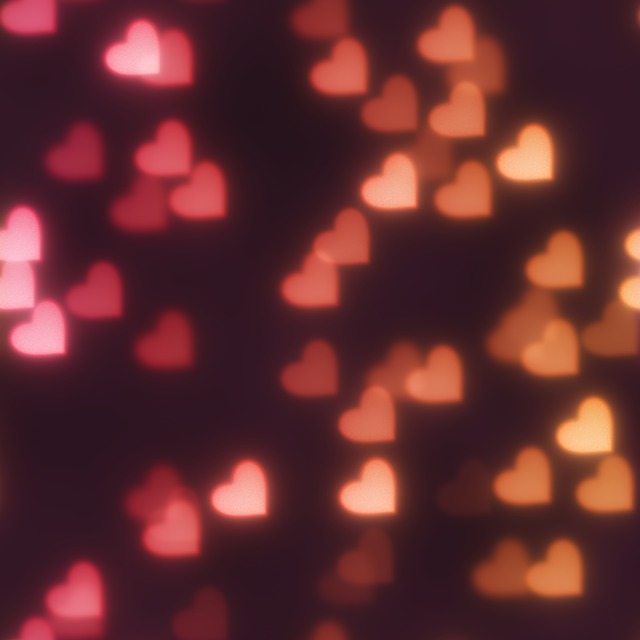 bokeh hearts background 183 free image on pixabay