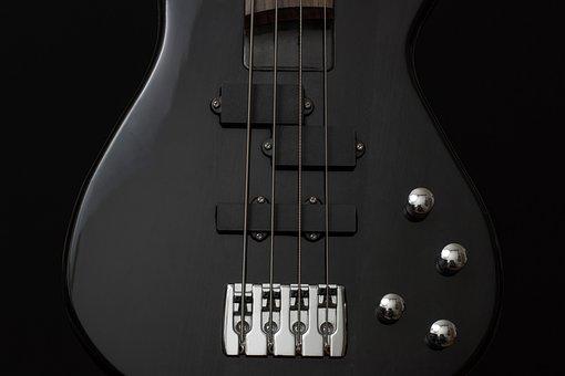 Kitara, Basso, Väline, Musta