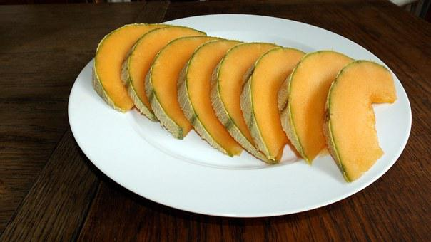 Cantaloupe, Fruit, Food