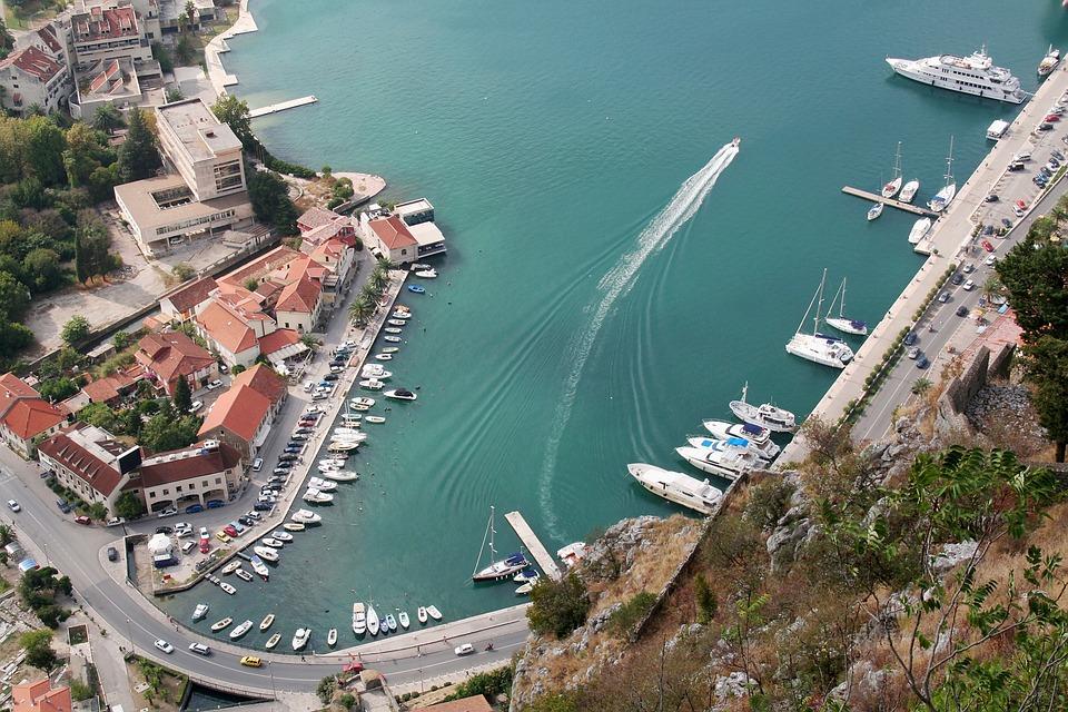 Hafen, Montenegro