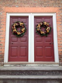 40 Free Door Wreath Wreath Images Pixabay