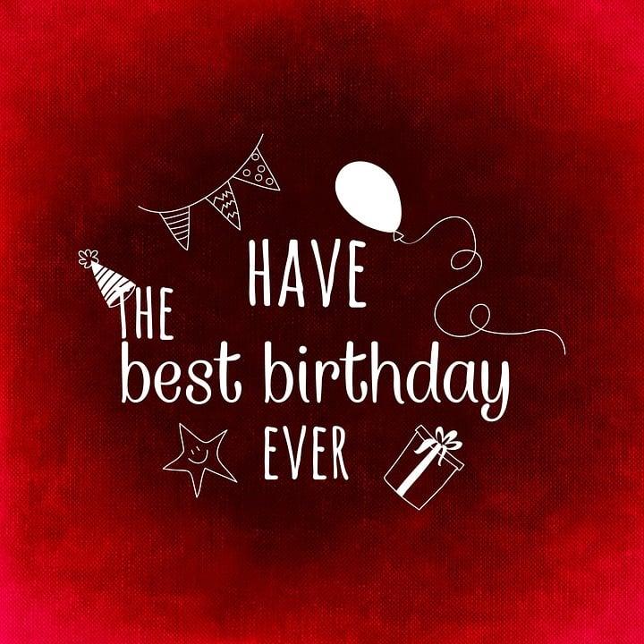Happy Birthday Greeting Free Image On Pixabay