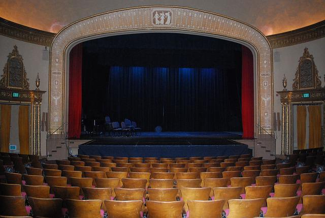 free photo theatre theater stage curtain free image