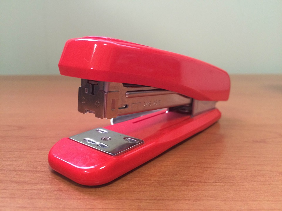 Stapler, Office, Paperwork, Printer