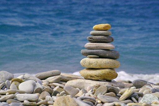Sun, Sea, Sun And Sea, Water, Pebble