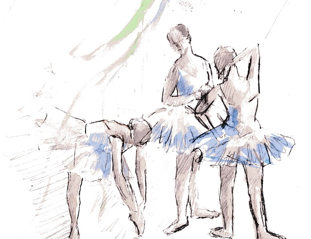 Disegno Ballerini: Free Illustration: Ballet, Drawing, Girl, Dance