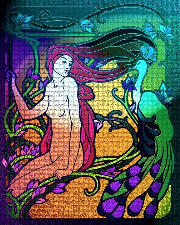 Istennő, Design, Háttér, Spirituális, Nő, Kultúra