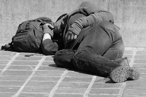 Wanderer, People, Man, Sleep, Tramp