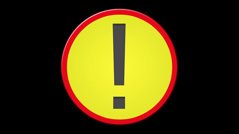 Warning Msn Letters Symbol Free Image On Pixabay