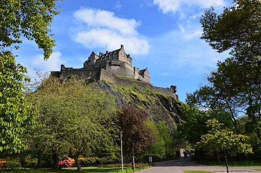 Castle, Scotland, Edinburgh, Edinburgh