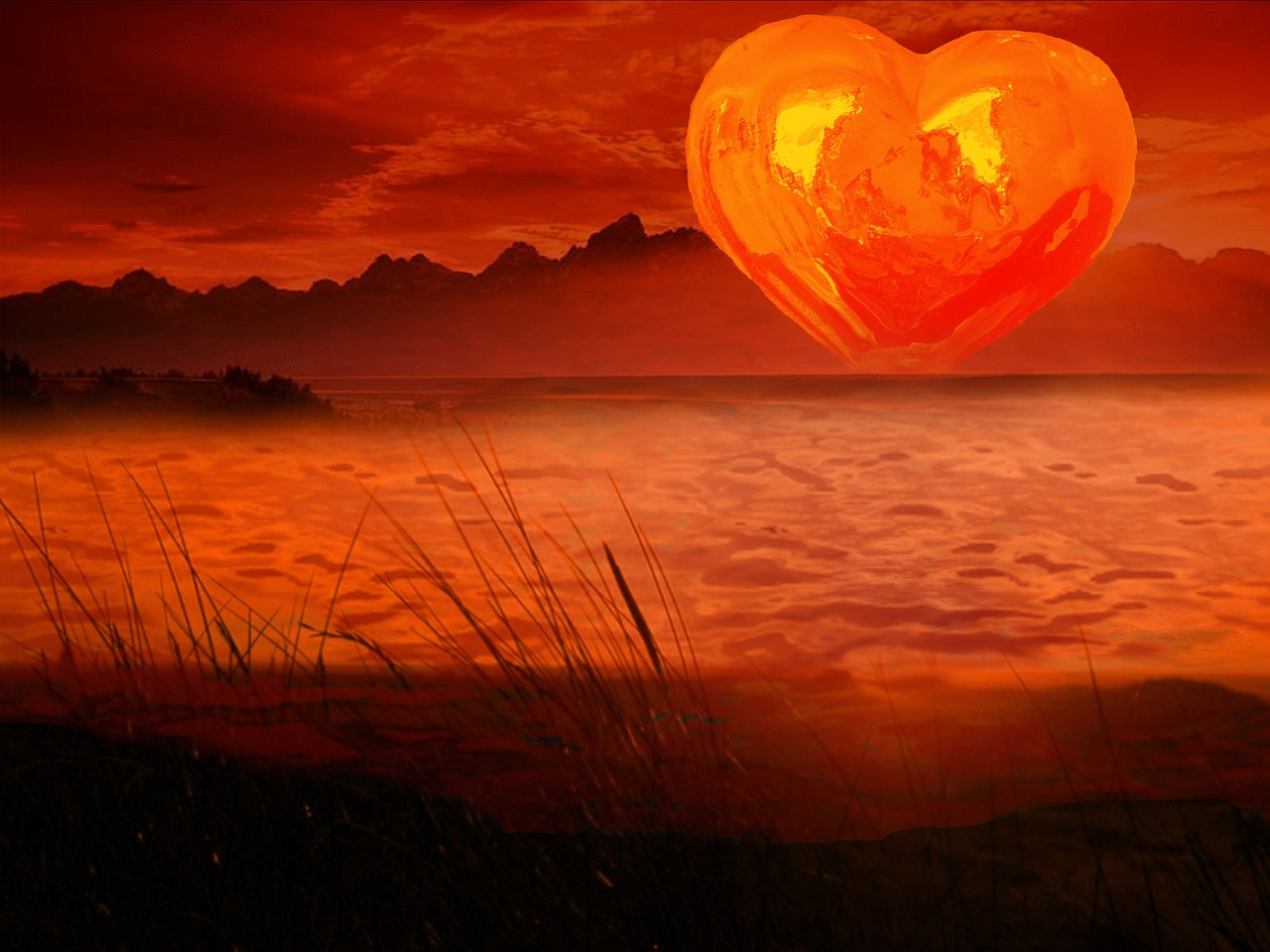картинки солнечное сердце одну свечу