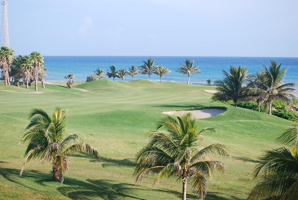 Jamajka, Ośrodek, Golf, Morze, Piasek, Beach