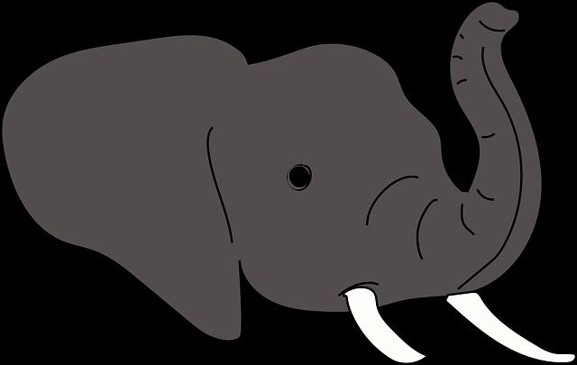 Free Illustration Elephant Animals Nature Wild Free