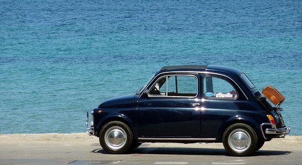Auto Vehicle Vehicles Fiat