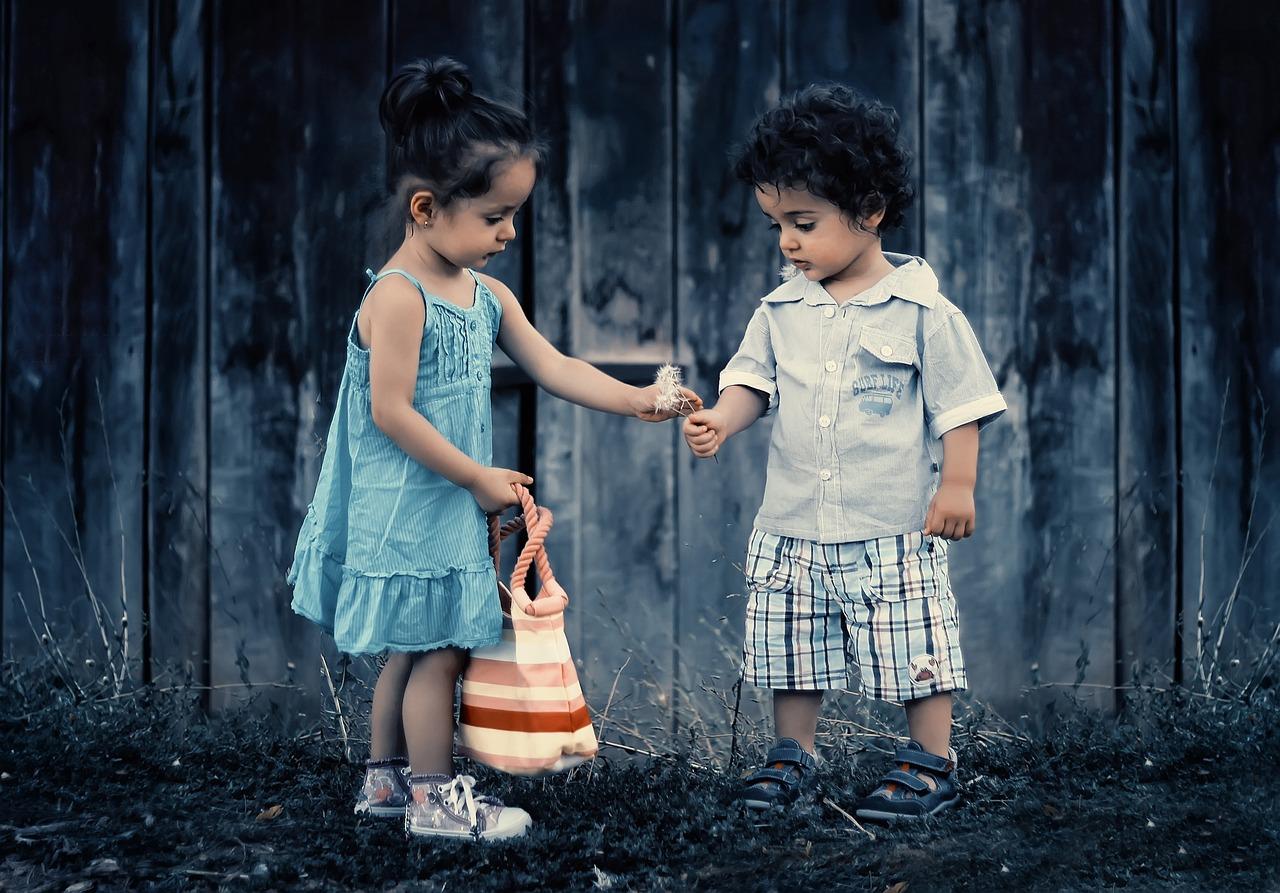 fille et garçon