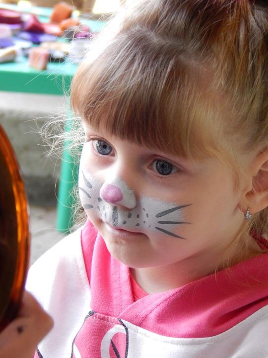 çocuk Kedi Kız Pixabayde ücretsiz Fotoğraf