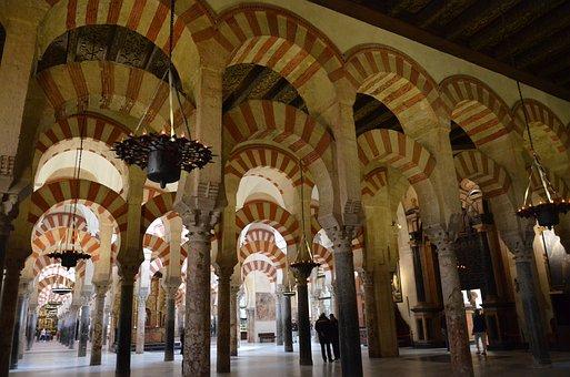 Muros de la Mezquita de Córdoba