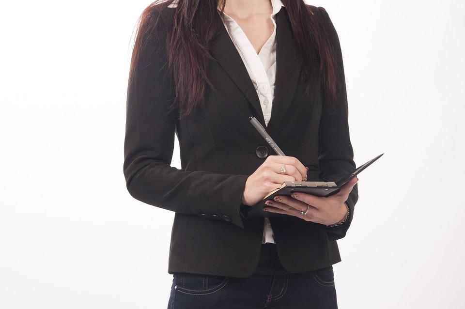 Forretning, Sekretær, Direktør, Planer, Skrivning