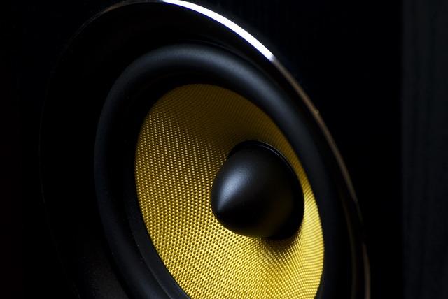 Free Photo Speaker Membrane Audio Sound Free Image