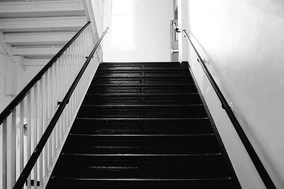 Stair, Steps, Stairway, Interior, Architecture