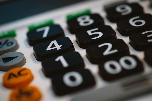 Calculadora, Negocio, Oficina
