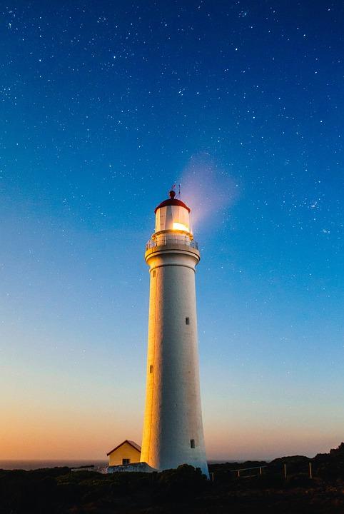 lighthouse shore coast 183 free photo on pixabay