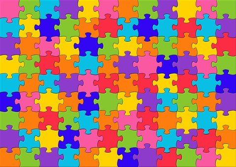 Jigsaw Puzzles Puzzle Mosaic Color