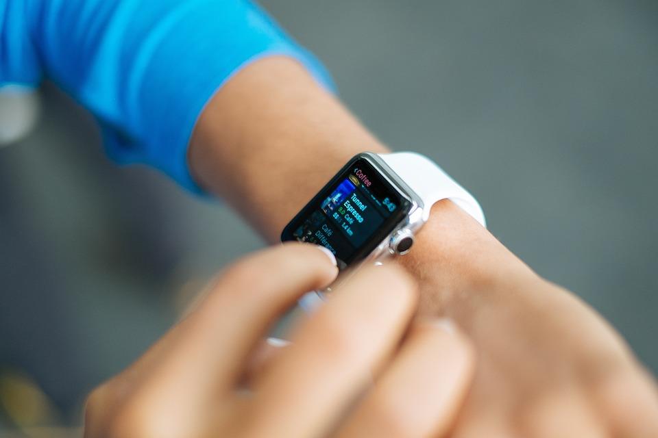 スマートな腕時計, アップル, 技術, スタイル, ファッション, スマート, モバイル, ディスプレイ